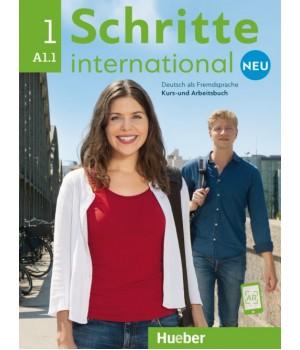 Підручник Schritte international Neu 1 Kursbuch+Arbeitsbuch+CD zum Arbeitsbuch