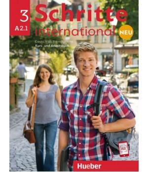 Підручник Schritte international Neu 3 Kursbuch+Arbeitsbuch+CD zum Arbeitsbuch