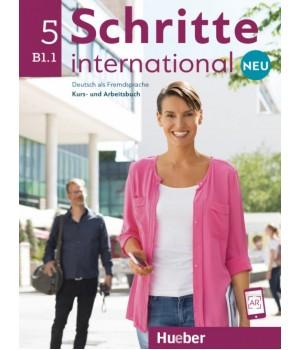 Підручник Schritte international Neu 5 Kursbuch+Arbeitsbuch+CD zum Arbeitsbuch
