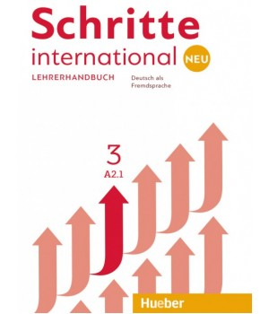 Книга для учителя Schritte international Neu 3 Lehrerhandbuch