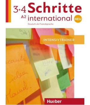 Упражнения Schritte international Neu 3+4 Intensivtrainer + CD