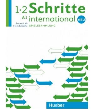 Підручник Schritte international Neu 1+2 Spielesammlung