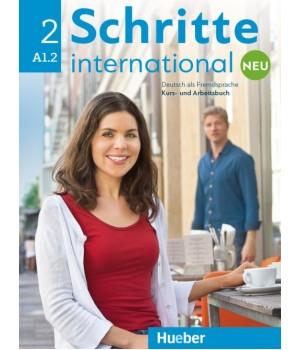 Підручник Schritte international Neu 2 Kursbuch+Arbeitsbuch+CD zum Arbeitsbuch