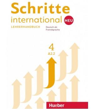 Книга для вчителя Schritte international Neu 4 Lehrerhandbuch