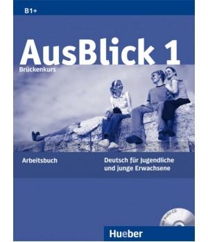Рабочая тетрадь AusBlick 1 Arbeitsbuch mit CD