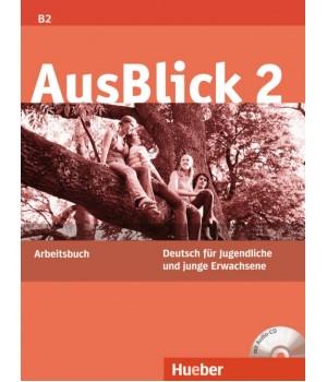 Робочий зошит AusBlick 2 Arbeitsbuch mit CD