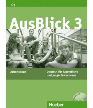 Робочий зошит AusBlick 3 Arbeitsbuch mit CD