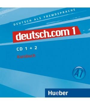 Диски deutsch.com 1 Audio-CDs zum Kursbuch