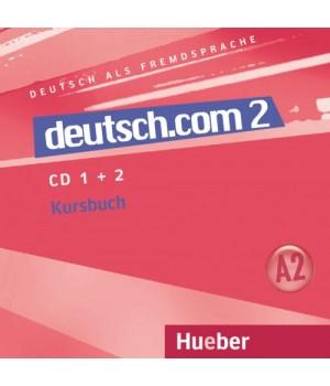 Диски deutsch.com 2 Audio-CDs zum Kursbuch