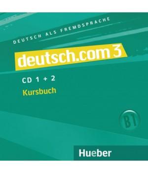Диски deutsch.com 3 Audio-CDs zum Kursbuch