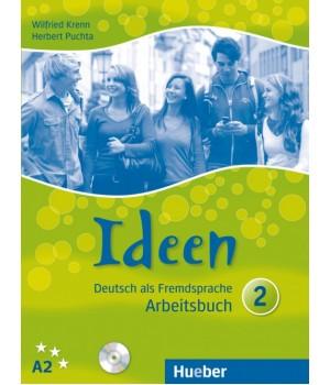 Робочий зошит Ideen 2 Arbeitsbuch mit Audio-CDs zum Arbeitsbuch