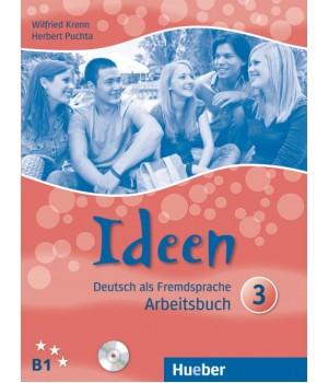Рабочая тетрадь Ideen 3 Arbeitsbuch mit Audio-CDs zum Arbeitsbuch