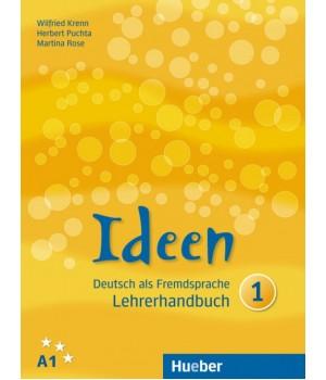 Книга для вчителя Ideen 1 Lehrerhandbuch