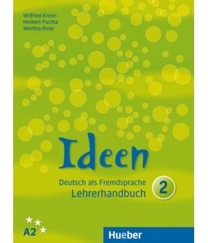 Книга для вчителя Ideen 2 Lehrerhandbuch