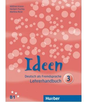 Книга для вчителя Ideen 3 Lehrerhandbuch