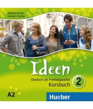 Диски Ideen 2 Audio-CDs zum Kursbuch