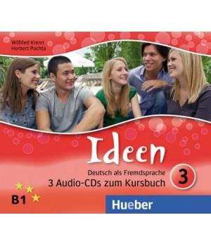 Диски Ideen 3 Audio-CDs zum Kursbuch