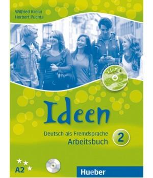 Робочий зошит Ideen 2 Arbeitsbuch mit Audio-CD zum Arbeitsbuch + CD-ROM
