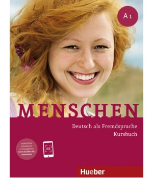 Підручник Menschen A1 Kursbuch mit DVD-ROM