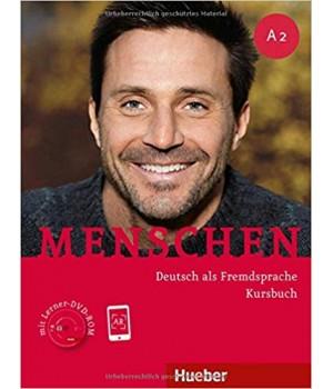 Підручник Menschen A2 Kursbuch mit DVD-ROM