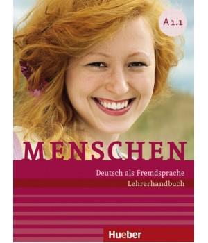 Книга для вчителя Menschen A1 Lehrerhandbuch
