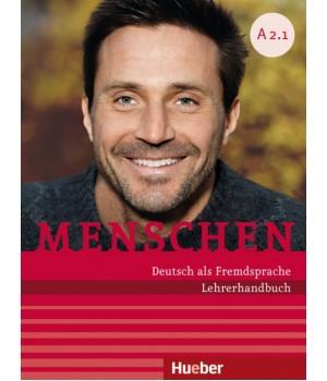 Книга для вчителя Menschen A2 Lehrerhandbuch