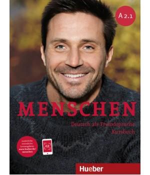 Підручник Menschen A2/1 Kursbuch mit DVD-ROM