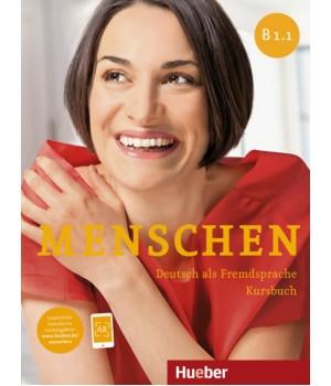 Підручник Menschen B1/1 Kursbuch mit DVD-ROM