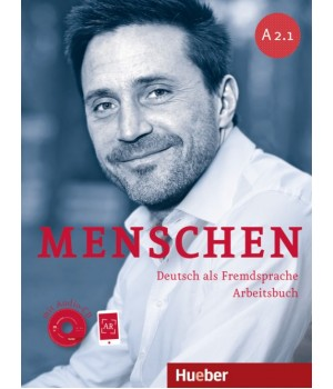 Робочий зошит Menschen A2/1 Arbeitsbuch mit Audio-CD