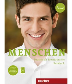 Підручник Menschen A1/2 Kursbuch mit DVD-ROM