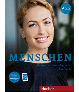 Підручник Menschen A2/2 Kursbuch mit DVD-ROM
