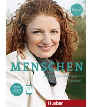 Підручник Menschen B1/2 Kursbuch mit DVD-ROM