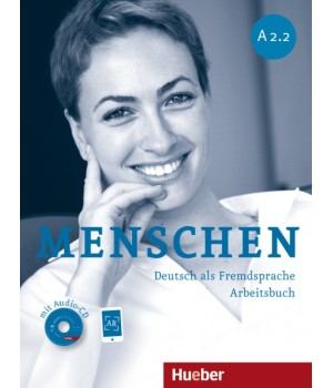 Робочий зошит Menschen A2/2 Arbeitsbuch mit Audio-CD