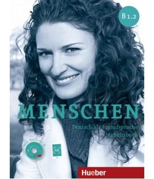 Робочий зошит Menschen B1/2 Arbeitsbuch mit Audio-CD