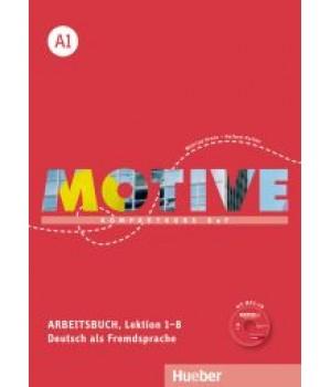 Робочий зошит Motive A1 Arbeitsbuch, Lektion 1-8