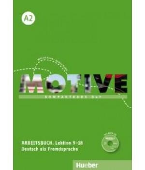 Робочий зошит Motive A2 Arbeitsbuch, Lektion 9-18
