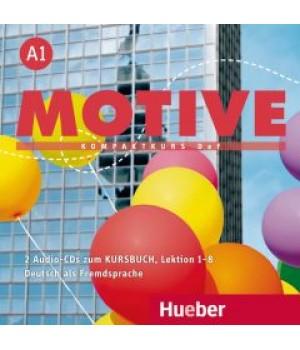 Диски Motive A1 Audio CDs zum Kursbuch Lektion 1-8