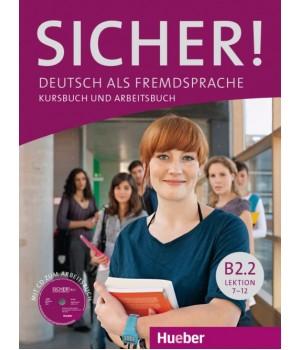 Учебник Sicher! B2/2 Kurs und Arbeitsbuch mit CDROM zum Arbeitsbuch, Lektion 7–12