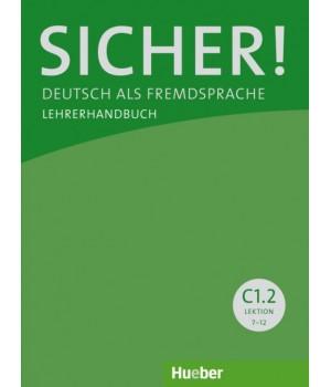 Книга для вчителя Sicher! C1/2 Lehrerhandbuch