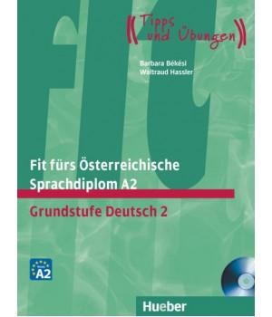 Тести Fit für ÖSD-Prüfung, A2 Lehrbuch mit integrierter CD