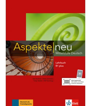Підручник Aspekte 1 Neu B1+ Lehrbuch ohne DVD