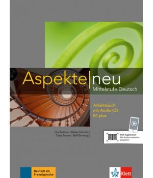 Робочий зошит Aspekte 1 Neu B1+ Arbeitsbuch mit Audio-CD