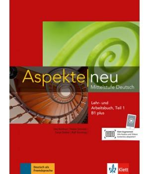Підручник Aspekte 1 Neu B1+ Lehr-und Arbeitsbuch, Teil 1+CD