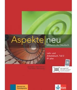 Підручник Aspekte 1 Neu B1+ Lehr-und Arbeitsbuch, Teil 2+CD