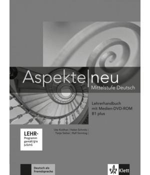 Книга для вчителя Aspekte 1 Neu B1+ Lehrerhandbuch mit DVD-ROM