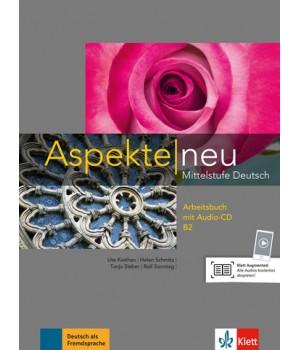 Робочий зошит Aspekte 2 Neu B2 Arbeitsbuch mit Audio-CD