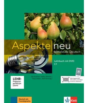 Підручник Aspekte 3 Neu C1 Lehrbuch mit DVD