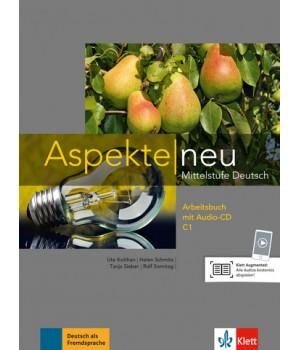 Робочий зошит Aspekte 3 Neu C1 Arbeitsbuch mit Audio-CD