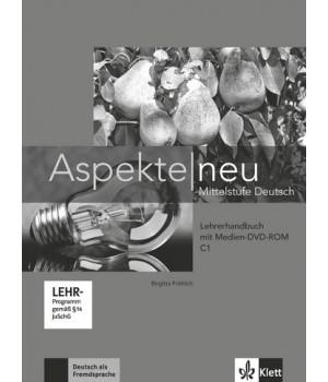 Книга для вчителя Aspekte 3 Neu C1 Lehrerhandbuch mit DVD-ROM