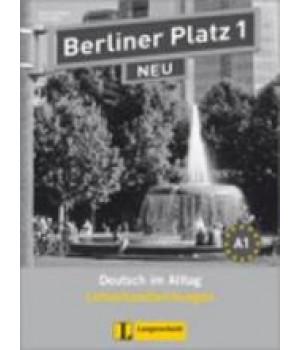 Книга для учителя Berliner Platz 1 NEU Lehrerhandreichungen